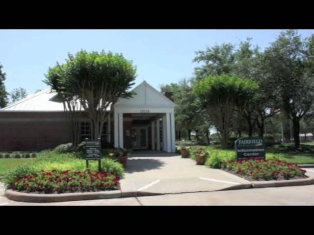 Fairfield in Cypress TX -- Why To Consider Moving There