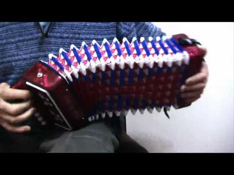 Lord Gordon's Reel   -   Toy Accordion (Melodeon)