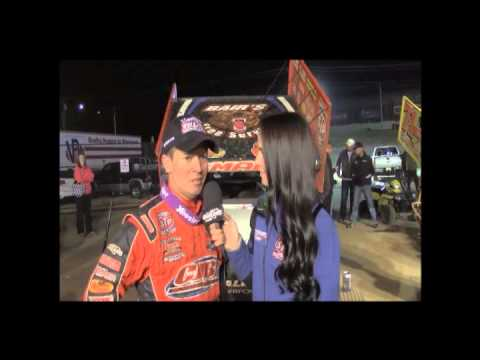 Daryn Pittman Claims 2013 World of Outlaws STP Sprint Car Series Championship at World Finals