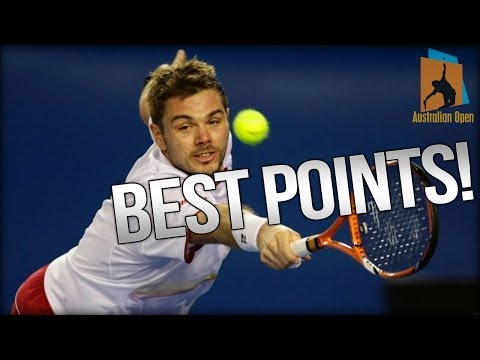 Stanislas Wawrinka - Best Points @ Australian Open 2014