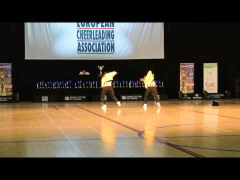 Jokers Double Cheerleading Europameisterschaft ECC 2014 Senior Street Cheer Double Dance 1. Place