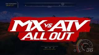 MX vs ATV All Out - Multiplayer Játékmenet Trailer