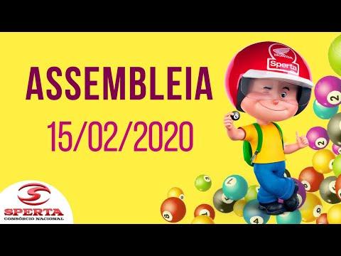 Sperta Consórcio - Assembleia - 15/02/2020