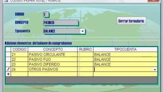 SISTEMA CONTABLE/SISTEMA DE CONTABILIDAD/ACCESS 2003