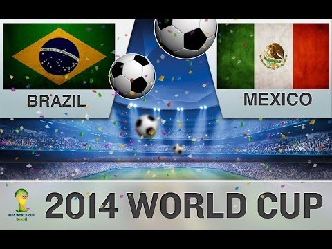 2014 FIFA World Cup: Brazil vs Mexico - Gameplay [HD]