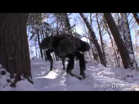 "Robot ""Big Dog"" Boston Dynamics (REAL)"
