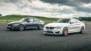 BMW M3 Comp Pack vs BMW M4 GTS - Drag Races - Top Gear. Watch online.