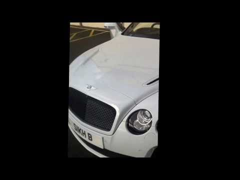 Singhs Bentley Super-Sports. (UK)