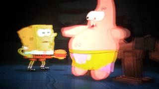 Spongebob 4D Entire Ride Adventure Dome Las Vegas