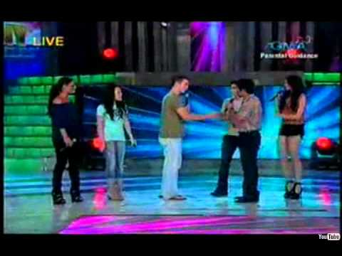 Stand by Me by Scotty McCreery, Thia Megia, Pia Toscano, Stephano Langone American Idol with Pacman