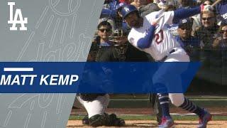 Matt Kemp smashes a three-run homer in return to Dodgers