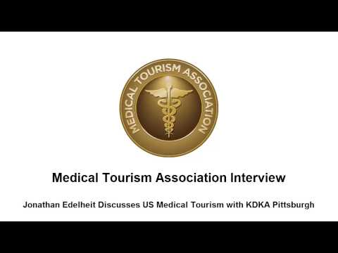 Medical Tourism Association Interview - KDKA Pittsburgh interviews Jonathan Edelheit