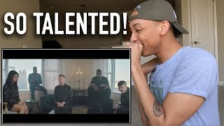 Singer Reaction to New Rules x Are You That Somebody? by Pentatonix