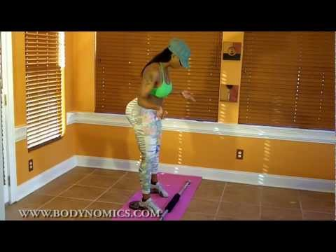 How Buffie the Body does SQUATS (the best butt and thigh builder!)