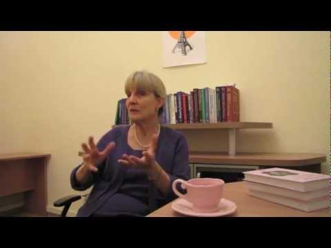Интервью Нэнси Мак-Вильямс в Киеве.