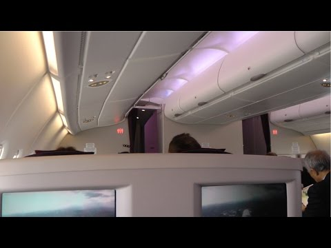 Malaysia Airlines MH004: Kuala Lumpur to London (Business Class)