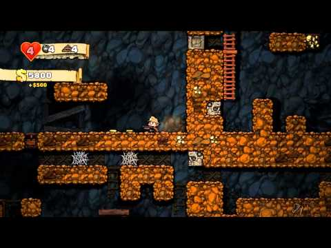 Spelunky #1: Driven Mad...