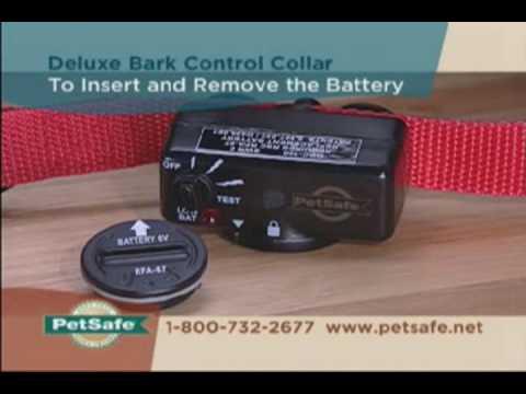 PetSafe Deluxe Bark Control Collar Tips - www.petsafe.net