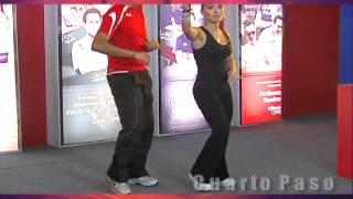 Bailar bachata en pareja. Parte 1