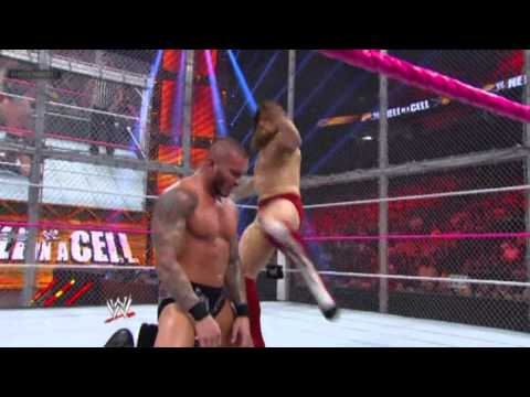 Hell In A Cell 2013 - Daniel Bryan vs. Randy Orton - Highlights HD