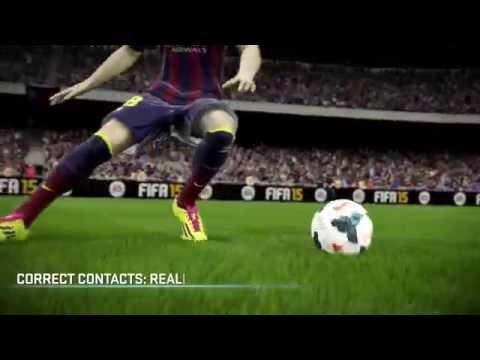 FIFA 15 Ловкость, контроль и точные соприкосновения