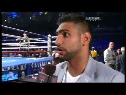 Amir Khan On Matthysse Beating Peterson