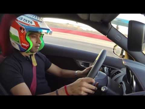 Narain Karthikeyan about the Jaguar F-Type R Coupé and Range Rover Sport | AutoMotoTV
