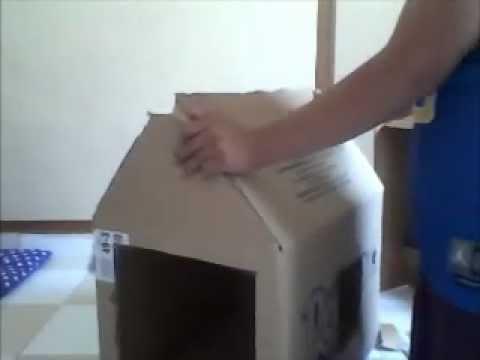 Casa para tu perro reciclada youtube - Como hacer una casita para perros ...