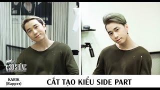 Cắt tạo kiểu Side Part   Rapper Karik   MV Yêu Em Quá Đi
