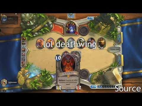 Funny and Lucky Moments   Hearthstone