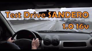 Test Drive Sandero 1,0 16v 2010