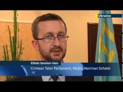 Crimean Tatars to boycott Crimea vote to join Russia News JN1 07/03/2014 07 March 2014