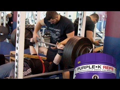 BARRY ANTONIOW ON PURPLE•K REPS