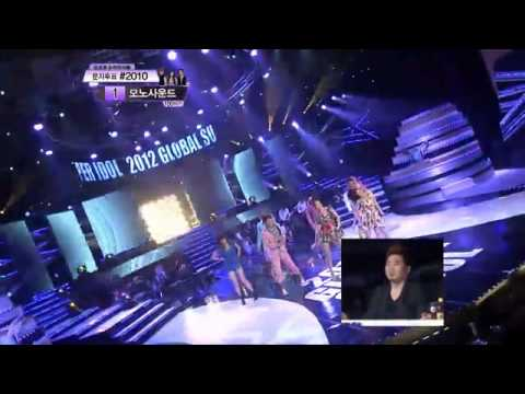 [Pre-debut] CZERO (JongMin) and his team - Global Super Idol 2012