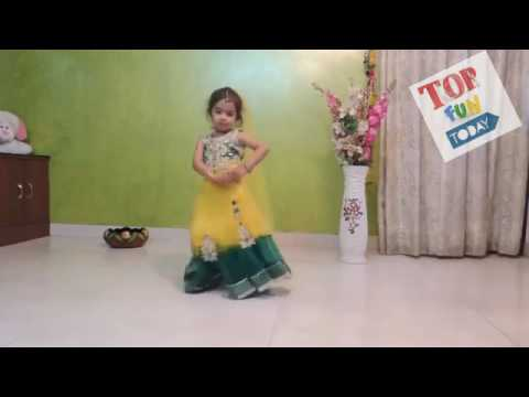 The Best Small Girl's Dance Ever - Dance Performance by Cute Little Indian Girls