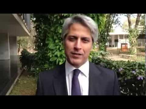 Alessandro Molon em ato público de apoio ao Marco Civil da Internet