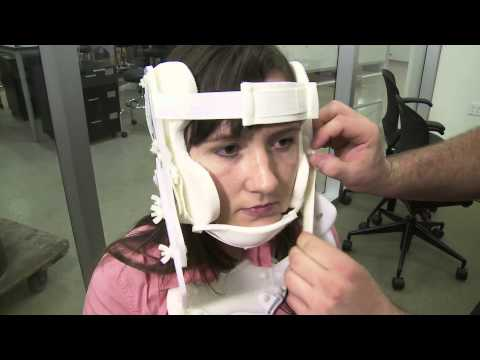 Rice University students create better cervical collar
