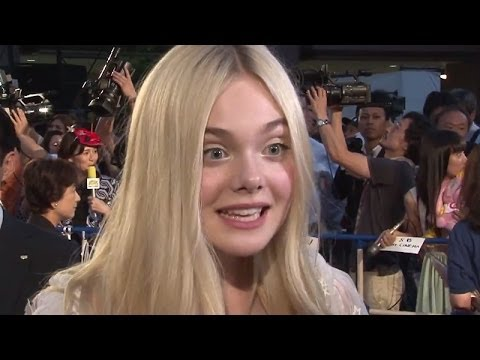 Elle Fanning  Interview