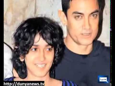 Dunya News-Indian Actor Aamir Khan's daughter in Film World