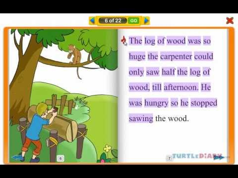 The Curious Monkey - Interactive Reading Book for Kids at