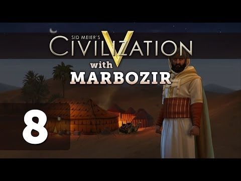 Civilization 5 Brave New World Deity Morocco Let's Play - Part 8