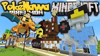 Minecraft Pixelmon: Pokenawa Revived! New Players, New