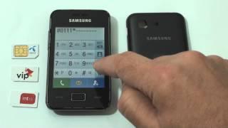 Samsung S5220 dekodiranje pomoću koda