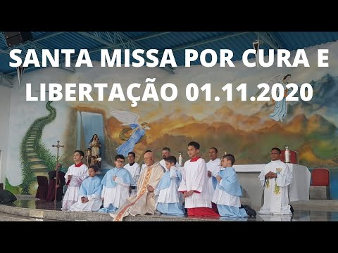Santa Missa por Cura e Libertação | 01.10.2020 | Domingo | Padre José Sometti | ANSPAZ