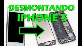 Como Abrir O Iphone 5 (DETALHADO)