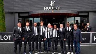 The Bianconeri visit Hublot HQ