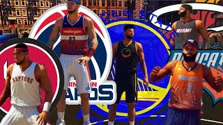 NBA 2K14 PS4 : Park All-Star Dunk Contest