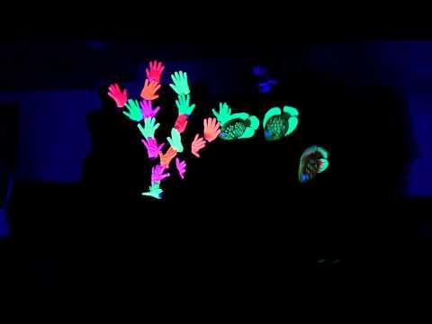 Dad Birthday Glowing Hands