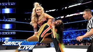 Naomi vs. Natalya: SmackDown LIVE, April 10, 2018