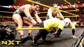 """The Lucha Dragons"" vs. The Vaudevillains: WWE NXT, Nov. 20, 2014"
